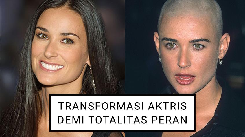 7 Aktris yang Melakukan Transformasi Besar Demi Totalitas Peran