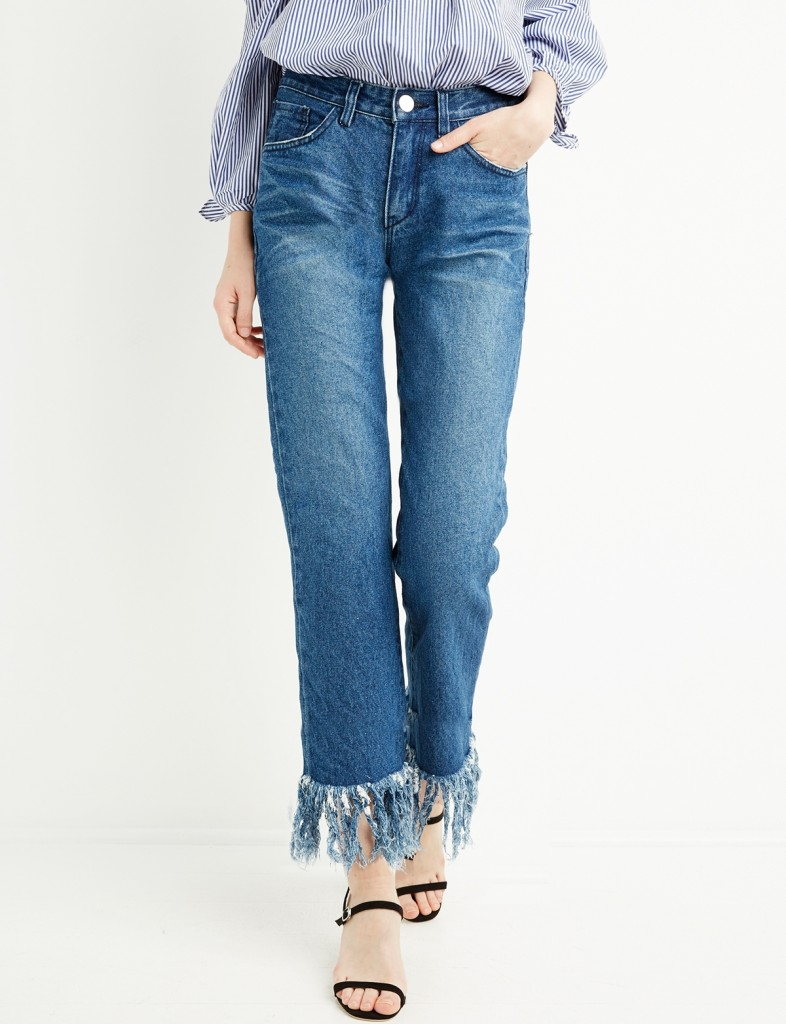 Fringe Denim