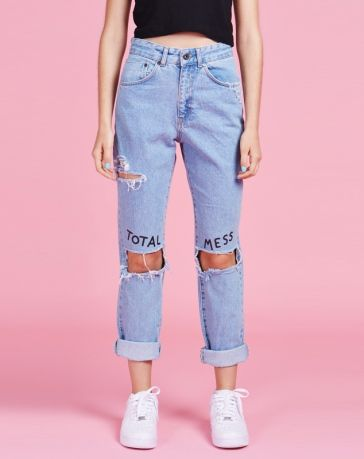 quotes jeans