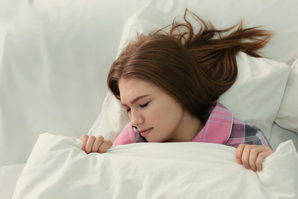 tidur lelap bumil - sesak