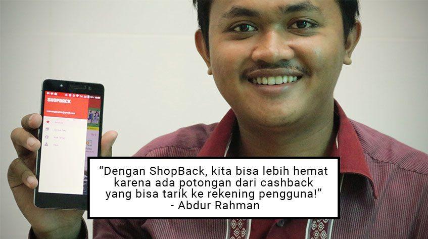 Abdur Rahman, Pemenang Xiaomi Yi dari Kontes Blog ShopBack