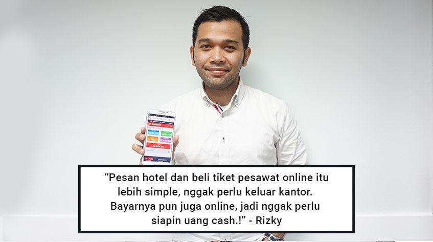 Rizky Fauzianto: Pakai ShopBack Nguntungin untuk Travelling