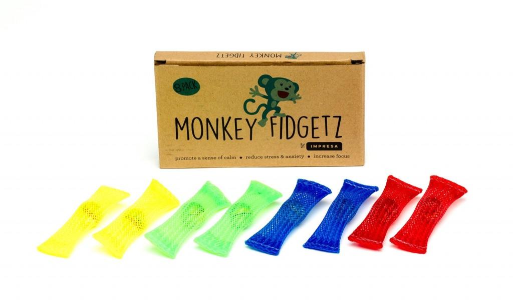 monkey fidgets