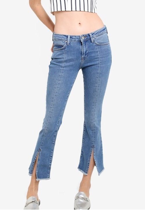 Mango - Frontcut Straight Jeans