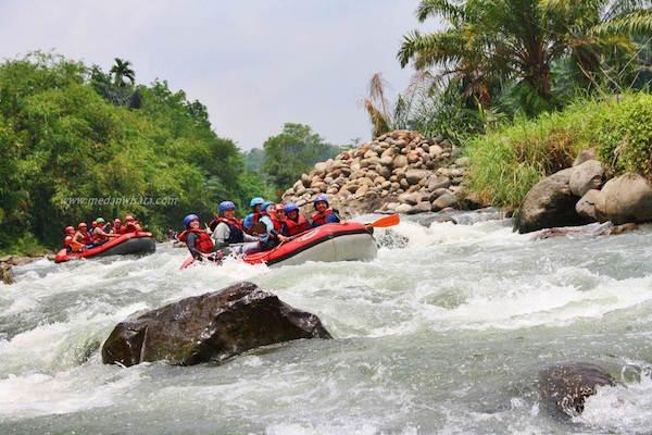 Arung Jeram Sungai Bingei medan