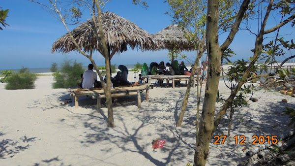 Pantai Mangrove tempat wisata di medan