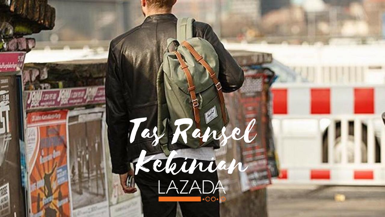 Yuk Belanja 6 Backpack Kekinian Di Lazada