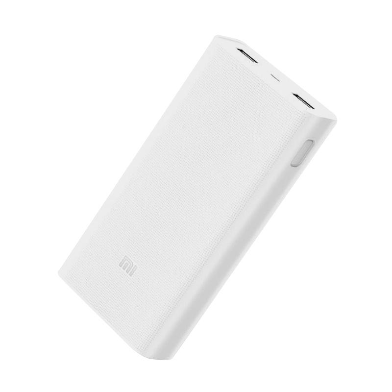 Xiaomi Original Mi 2 Powerbank Quick Charge 3.0 : 20000mAh - Putih