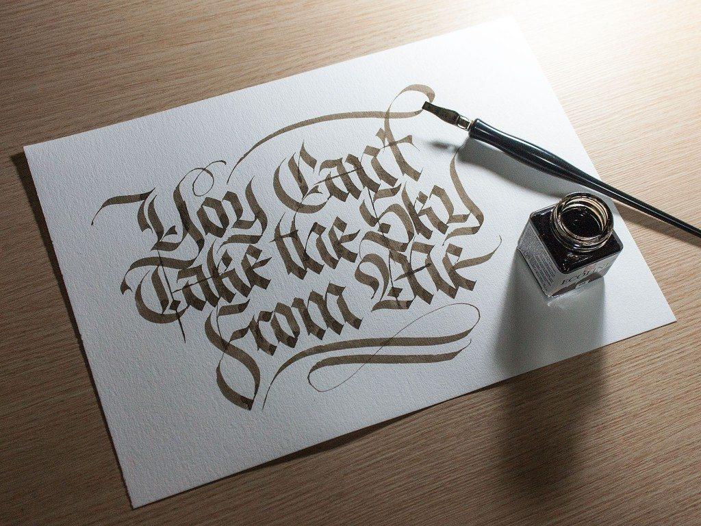 Tulisan Kaligrafi Latin Cikimm Com