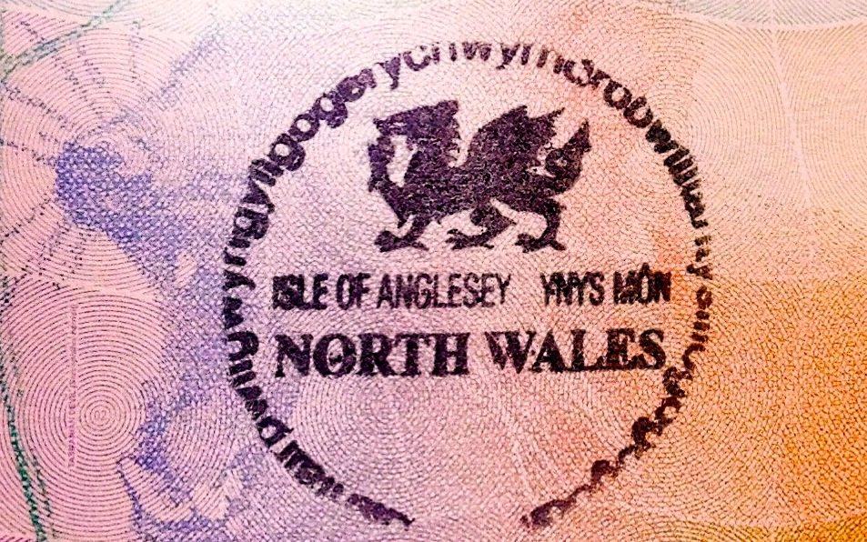 llanfairpwllgwyngyllgogerychwyrndrobwllllantysiliogogogoch passport stamp
