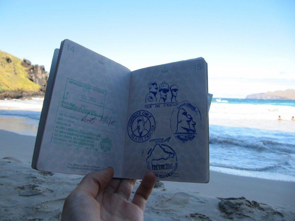pulau paskah cap paspor