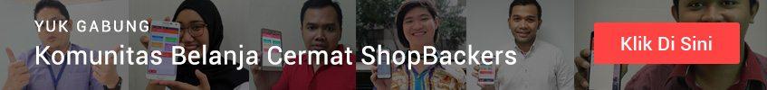 Join Sekarang di Komunitas ShopBack!