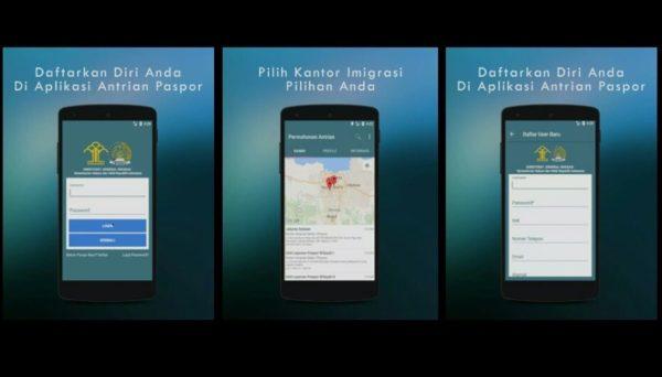 Aplikasi pengajuan paspor online