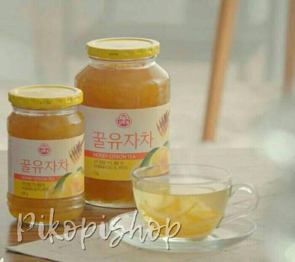 ottogi honey citron tea oleh-oleh khas korea