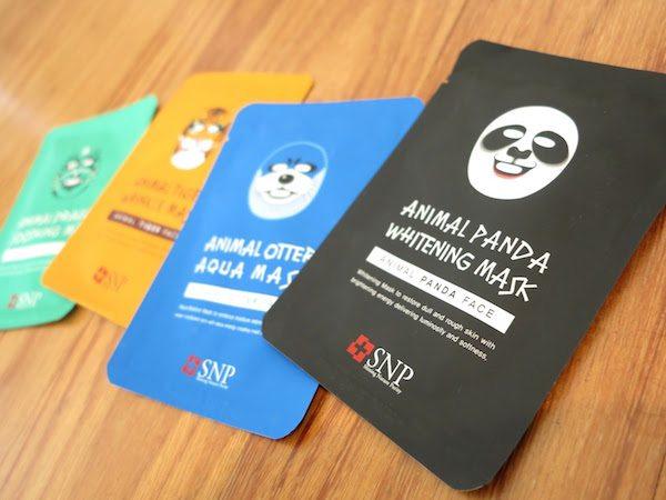 SNP Masker oleh-oleh khas korea