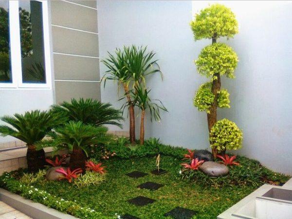 7 Contoh Desain Taman Minimalis Yang Simpel Tapi Cantik