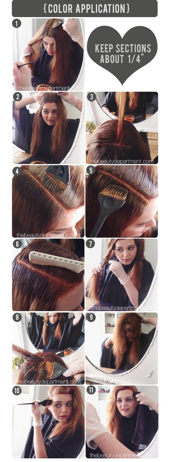 cara mewarnai rambut