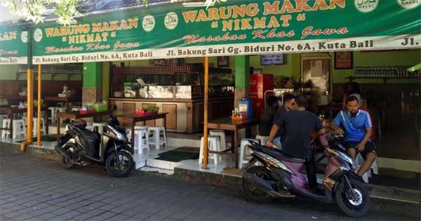 warung makan di Bali