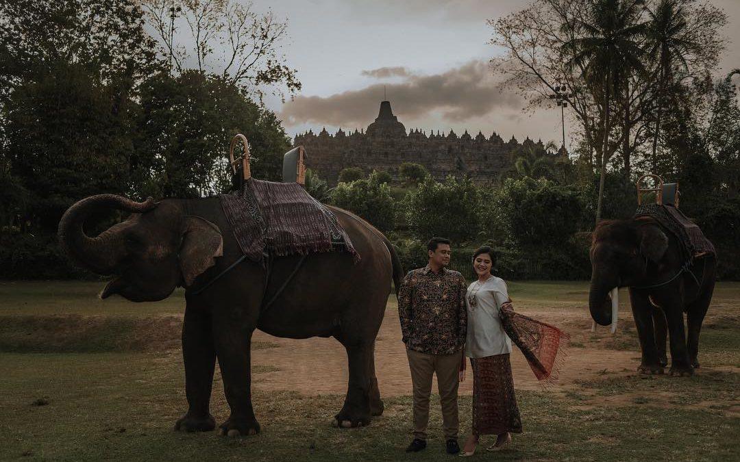 Jelang Pernikahan Putri Presiden Jokowi, Ini 5 Foto Prewedding Kahiyang dan Calon Suami
