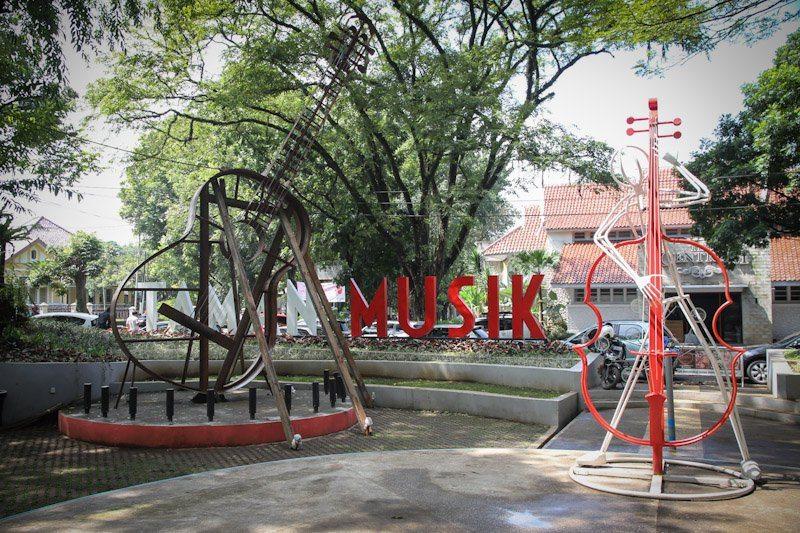 Taman Musik Centrum - Jalan-jalan ke Bandung
