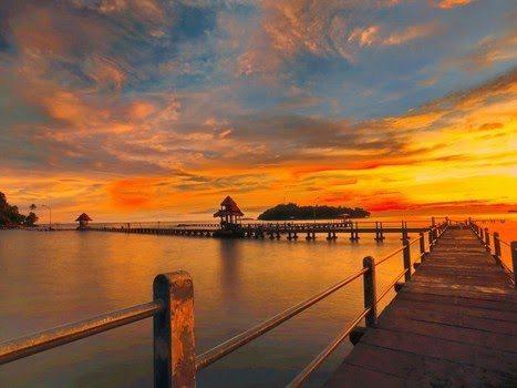 Pantai Carocok di Sumatera Barat