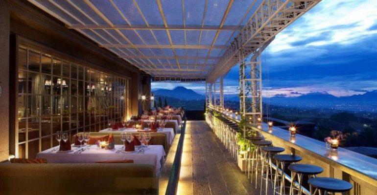 restoran romantis di Bandung nan elegan Belle Vue