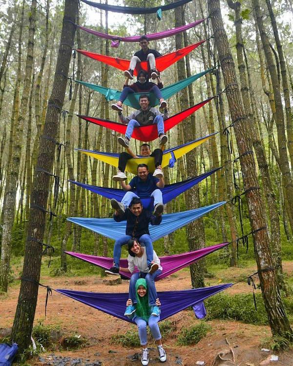 Gardu Pandang Hutan Pinus Kragilan