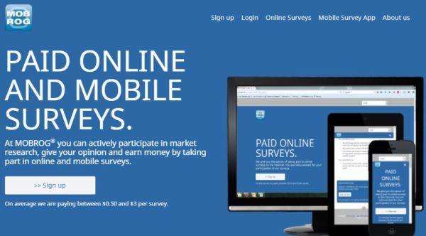 Mobrog Online Survey