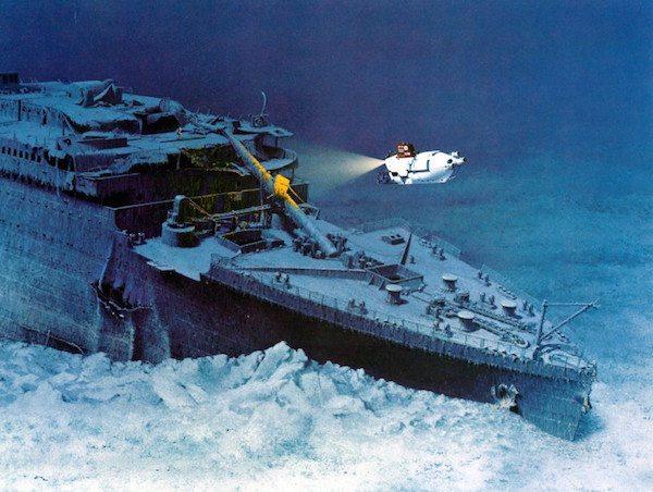 penyelaman kapal titanic
