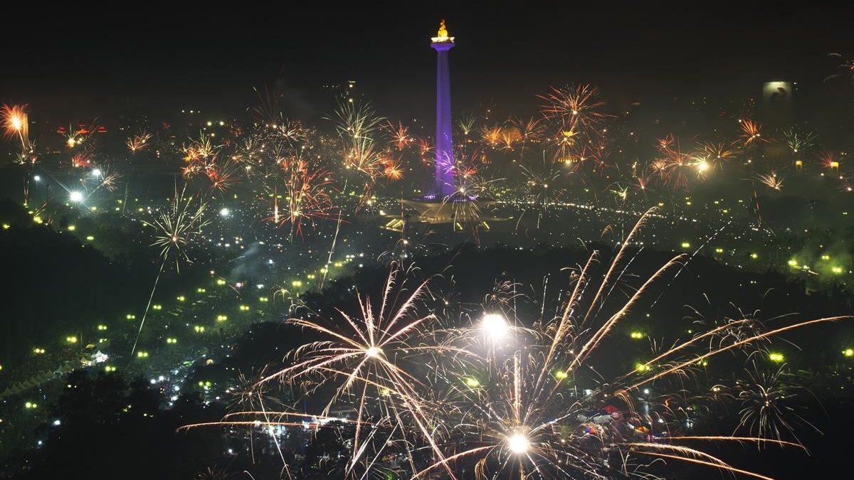 Ini 5 Titik Pesta Kembang Api di Jakarta Saat Malam Pergantian Tahun 2018