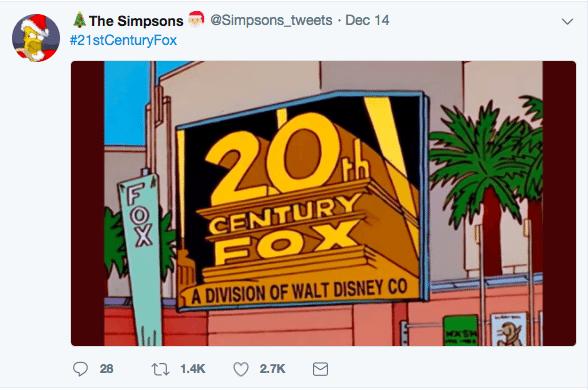 Disney mengakuisisi 20th century Fox
