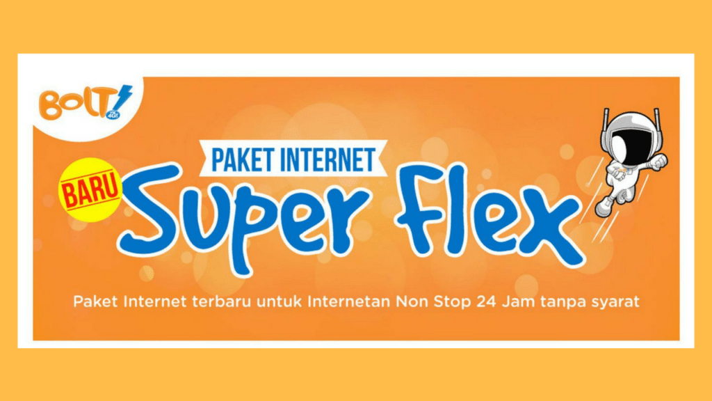 Paket Internet Bolt Murah Januari 2018