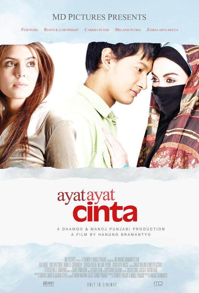 Penulis Indonesia - Film adaptasi novel karya Habiburrahman El Shirazy
