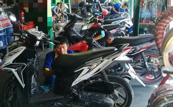 mudik dengan motor