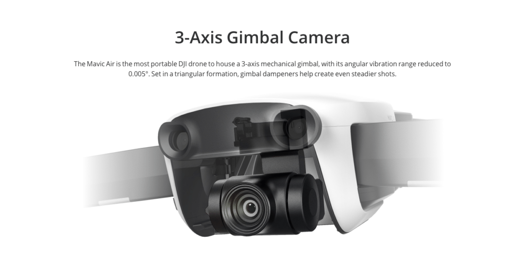 dji mavic gimbal camera