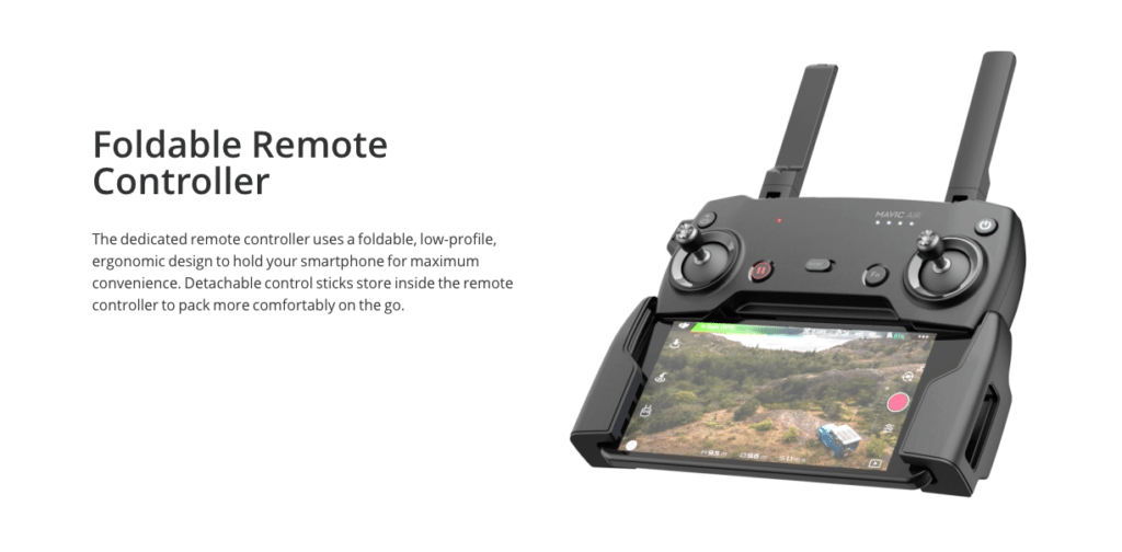foldable remote controller DJI MAVIC AIR