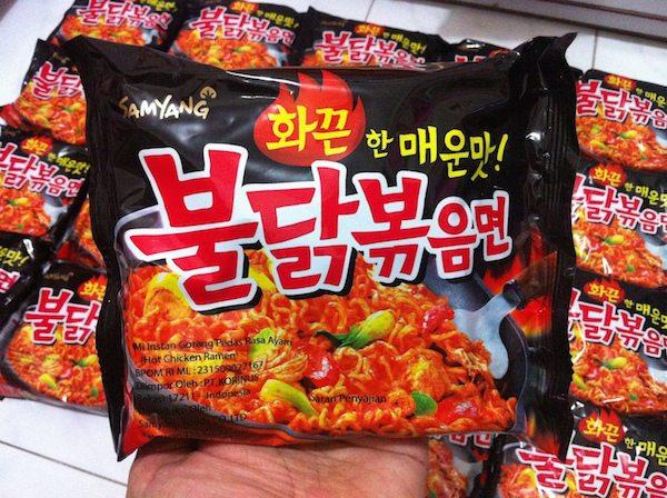 makanan hits samyang