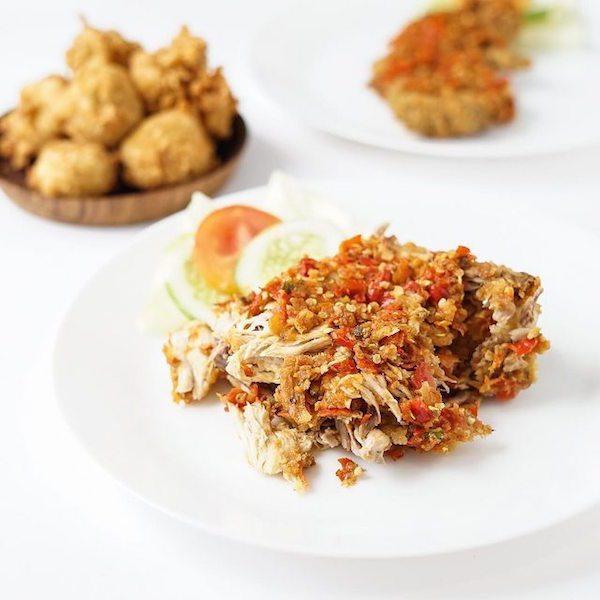 ayam geprek di Jakarta