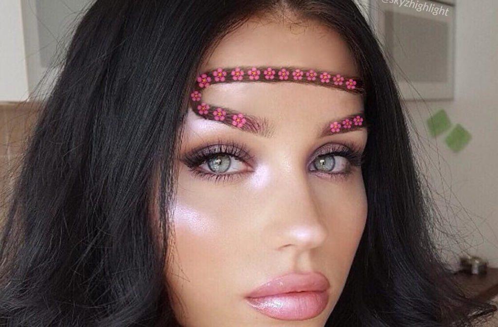 tren makeup 2018