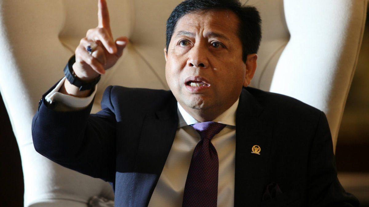 Setya Novanto Sebut 9 Nama yang Terlibat Kasus e-KTP Dalam Persidangan