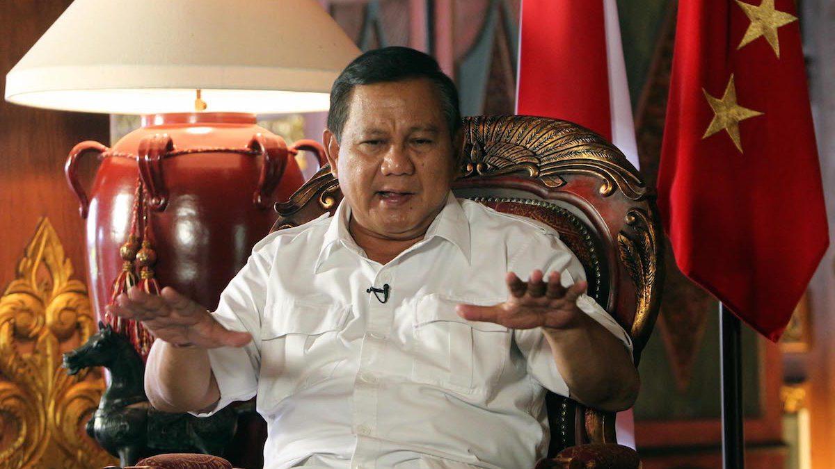 Prabowo Resmi Mencalonkan Diri Sebagai Capres di 2019