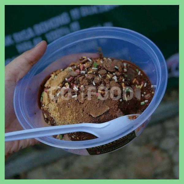 Es Kepal Milo Kekinian di Jakarta