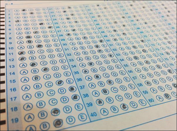 cara mencontek saat ujian