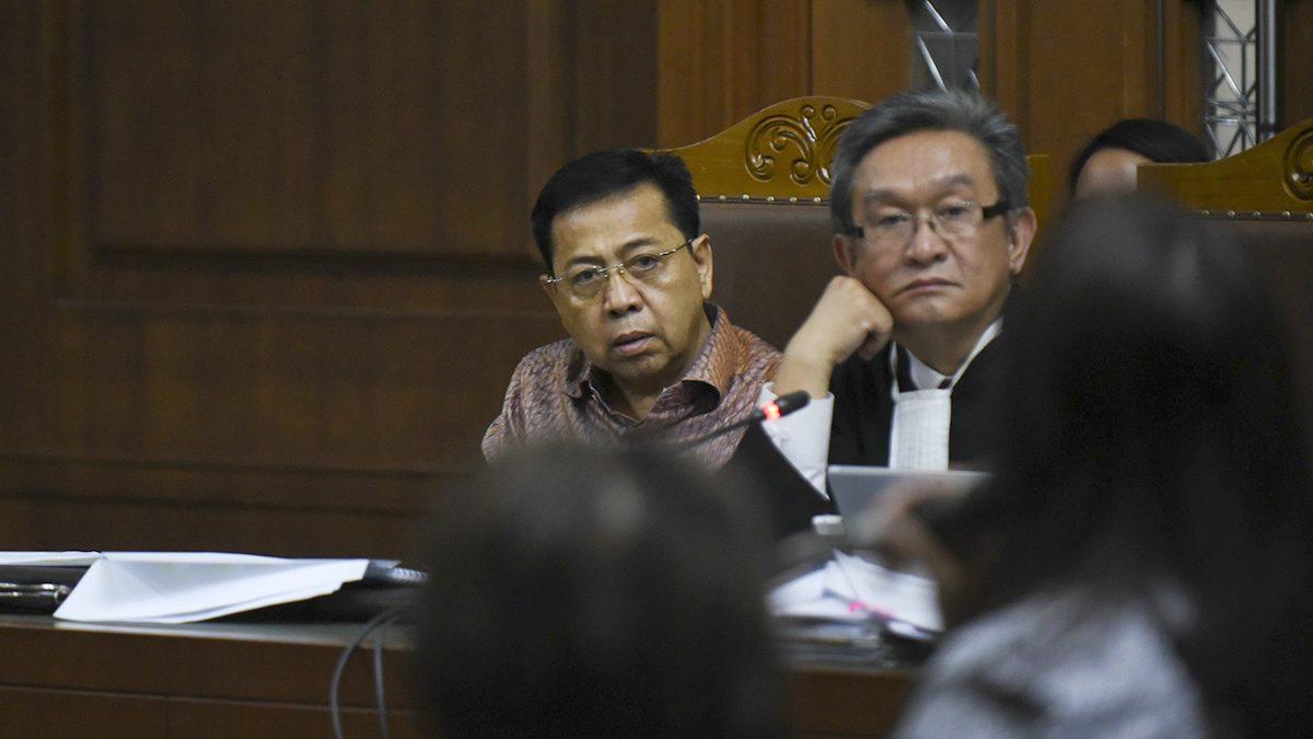Terbukti Melakukan Korupsi E-KTP, Setya Novanto Divonis 15 Tahun Penjara