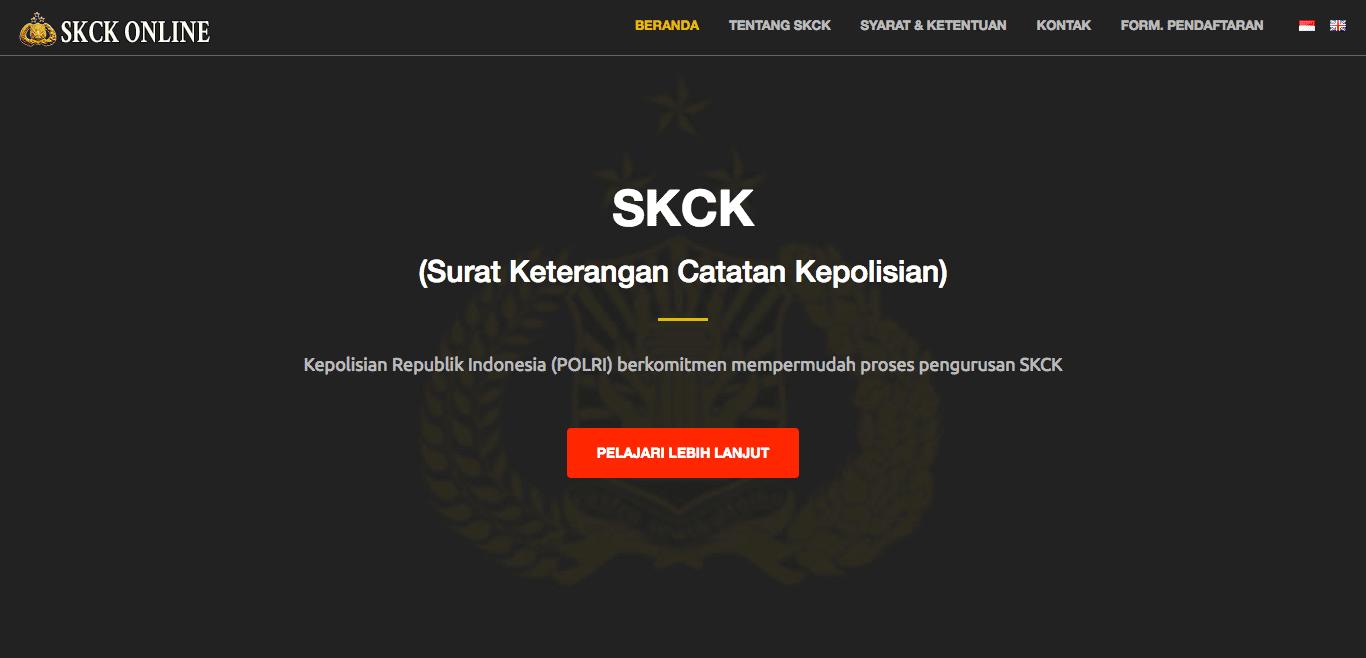 cara membuat skck online