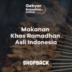 Menu Buka Puasa Tradisional Khas Indonesia