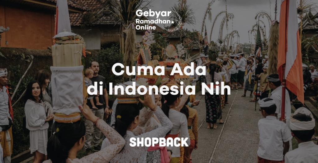 tradisi unik lebaran di indonesia