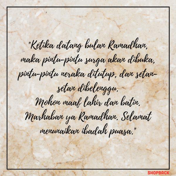 40 Ucapan Menyambut Ramadhan Untuk Teman Dan Keluarga