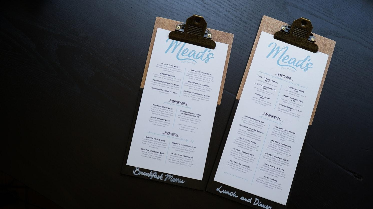 pilih menu yang murah