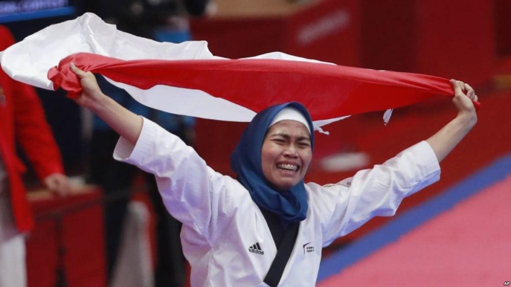 atlet wanita indonesia